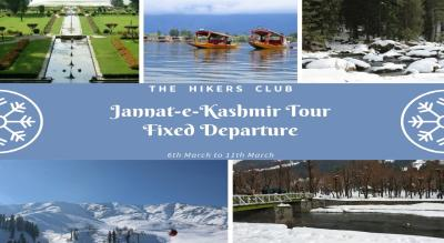 Jannat-e-Kashmir Tour - The Hikers Club