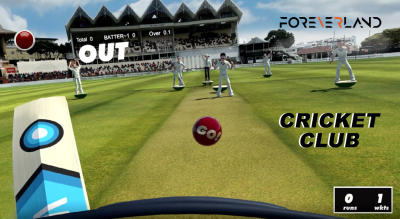 Cricket Club: Virtual Reality Game (50% Off! Use Code VRCRIC50)