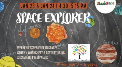 Space Explorer ! Stories & Activities