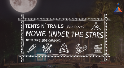 Movie Under the Stars @Tents N' Trails