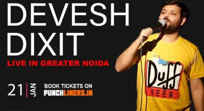 Punchliners Comedy Show ft Devesh Dixit in G.Noida