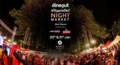 Dineout SteppinOut Night Market | Kolkata