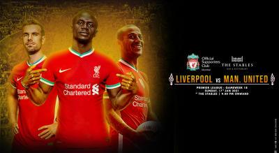 Liverpool vs Manchester United | Live Screening Mumbai
