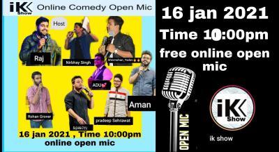 ikshow open mic