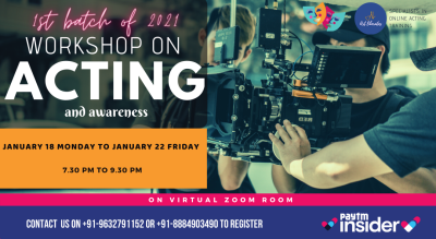 Acting Workshop By Art Liberates (Evening)