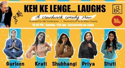 Keh ke lenge...  Laughs!!!