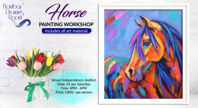 Horse Painting Workshop by Bombay Drawing Room
