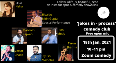 @life_is_beautiful_neha on instagram (JIP Comedy Club)