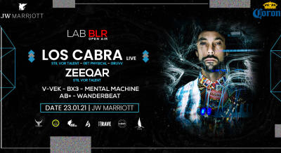 LAB BLR Open Air with Larive Show case
