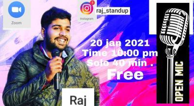Solo 40 min show By Raj