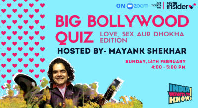 The Big Bollywood Quiz : Love, Sex aur Dhoka Edition by IWTK