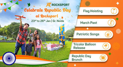 Celebrate Republic Day at Rocksport, Greater Noida