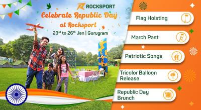 Celebrate Republic Day at Rocksport, Gurugram