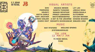 Optikal Asylum Pune | Visual Arts Showcase #4