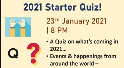 2021 Starter Quiz