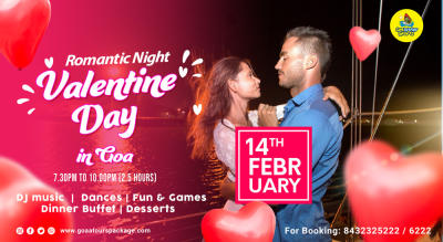 Valentines Day Celebration in Goa | 14 February 2021