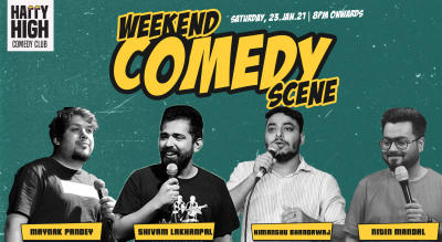Weekend Comedy Scene - A stand up comedy show