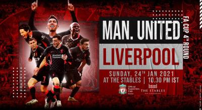 Manchester United vs Liverpool | FA Cup Live Screening