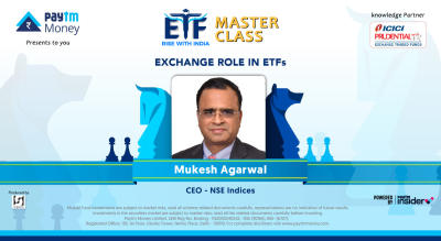 Exchange role in ETFs with Mukesh Agarwal