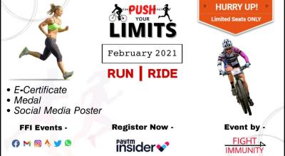 PUSH YOUR LIMITS - RUN/RIDE - FEBRUARY 2021