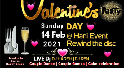 Biggest valentine's day party