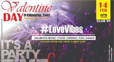 #LOVEVIBES - Valentine Party
