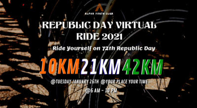 Republic day Virtual Cycling 2021