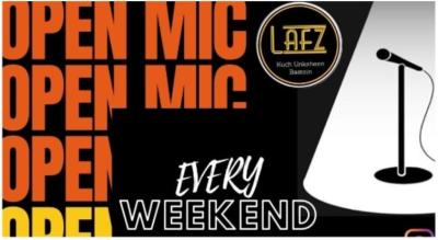 Open Mic    Lafz Entertainments