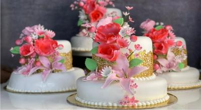 GOVERNMENT CERTIFIED COURSE FOR MASTERCLASS IN WEDDING CAKE