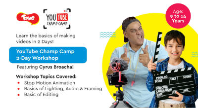 YouTube Champ Camp 2-Day Workshop