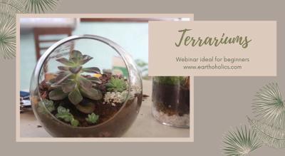 Online: Terrarium making workshop