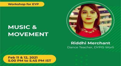 Workshop on Music & Movement