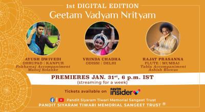Geetam Vadyam Nrityam: A Musical Confluence