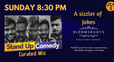 Stand Up Comedy | Bloomsbury- Whitefield | Bangalore
