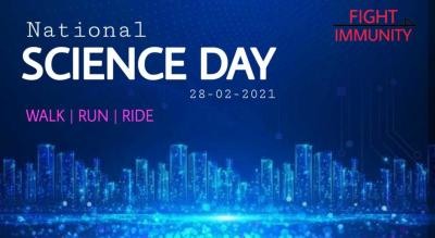 NATIONAL SCIENCE DAY - WALK/RUN/RIDE