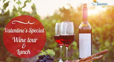 Valentine's Special - Wine tour and Brunch