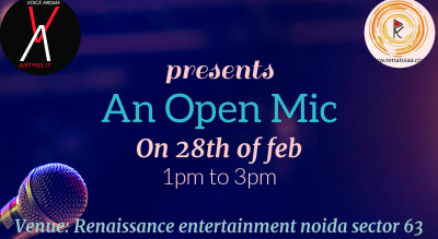 Open Mic by Voice Aroma