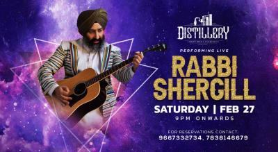 Rabbi Shergill Live