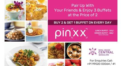 Lunch & Dinner Buffet at Royal Orchid Central