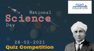 NATIONAL SCIENCE DAY - QUIZ COMPETITION