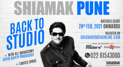 SHIAMAK Back to Studio - Dance Classes (Pune - Kalyani Nagar)