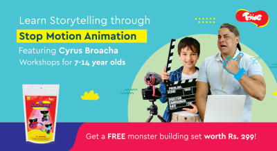 Storytelling Through Stop Motion Animation feat, Cyrus Broacha + Free Monster Making Kit