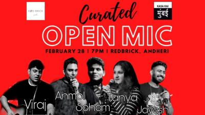 CURATED SHOW AND OPEN MIC AT ANDHERI