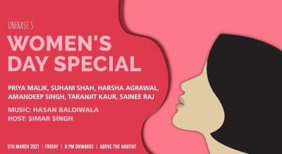 UnErase Poetry's Women's Day Special!