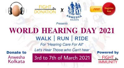 WORLD HEARING DAY 2021 - WALK/RUN/RIDE
