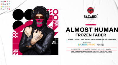 Bacardi Sundowners ft ALMOST HUMAN | 28th Feb