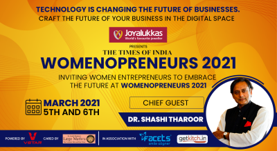 Times Of India Womenopreneurs 2021 - With Dr Shashi Tharoor
