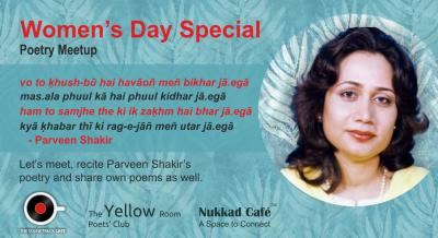 Women's Day Special - Poetry Meetup