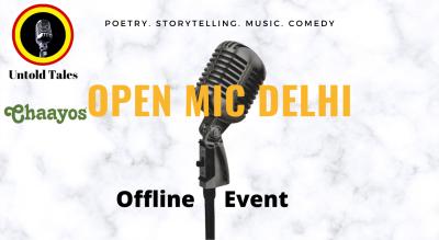 Open Mic Evening - Delhi