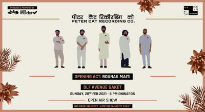 Peter Cat Recording Co, Live at DLF Avenue